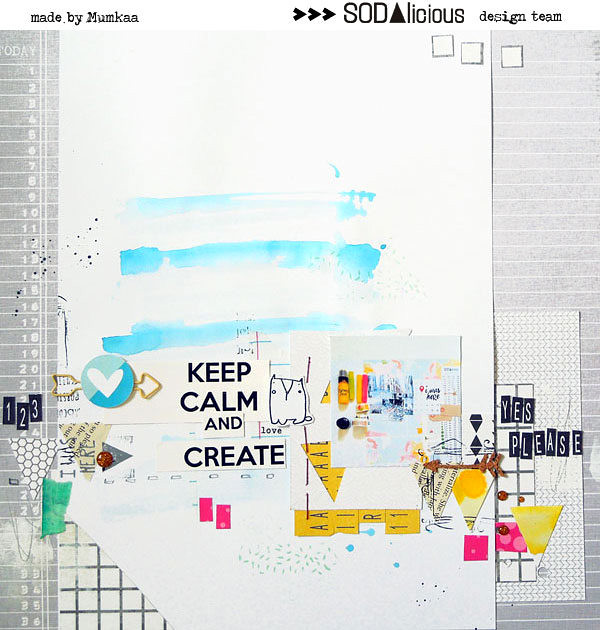 keep calm & create