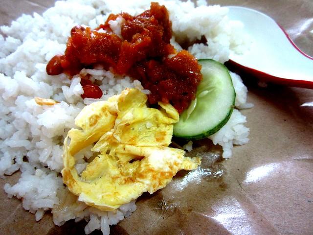 Bandong nasi lemak