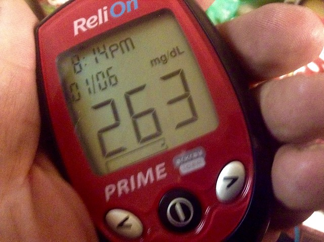High Blood Sugar glucose over 200mg Test Results Readings Meter, 1/2015 by Mike Mozart of TheToyChannel and JeepersMedia on YouTube #High #Blood #Sugar #Glucose #Over #200 #Test #Results #Diabetes #Hyperglycemia