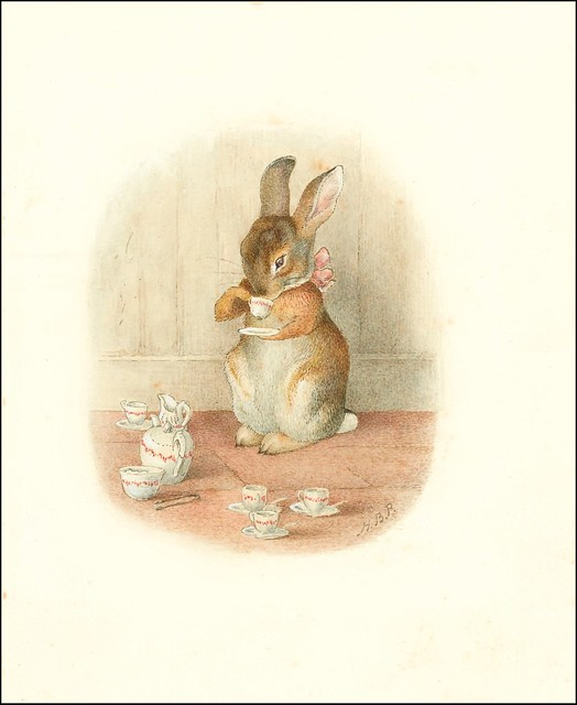 A Rabbit's Tea Party - Beatrix Potter