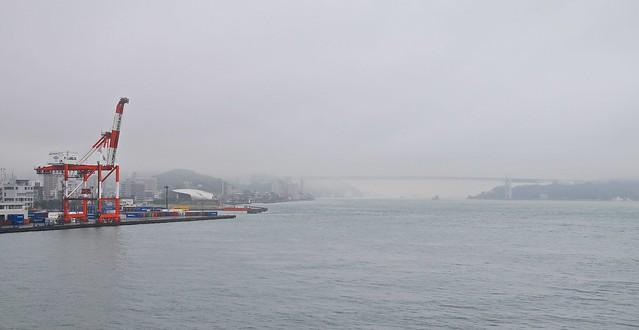 Bridge between Honshu and Kyushu
