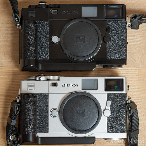 Zeiss Ikon, skin comparison