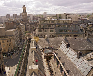 From the Roof of The Wool Exchange