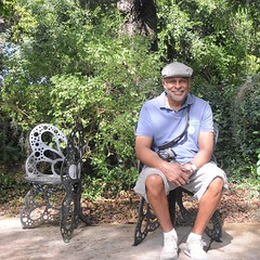 Don in the Butterfly Chair