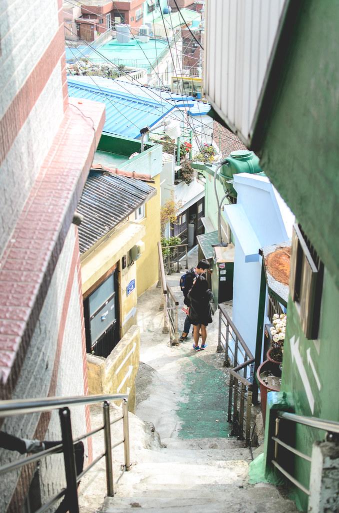 Gamcheon alleys