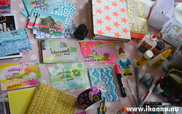 Cheer me up & share your DIY Postcards
