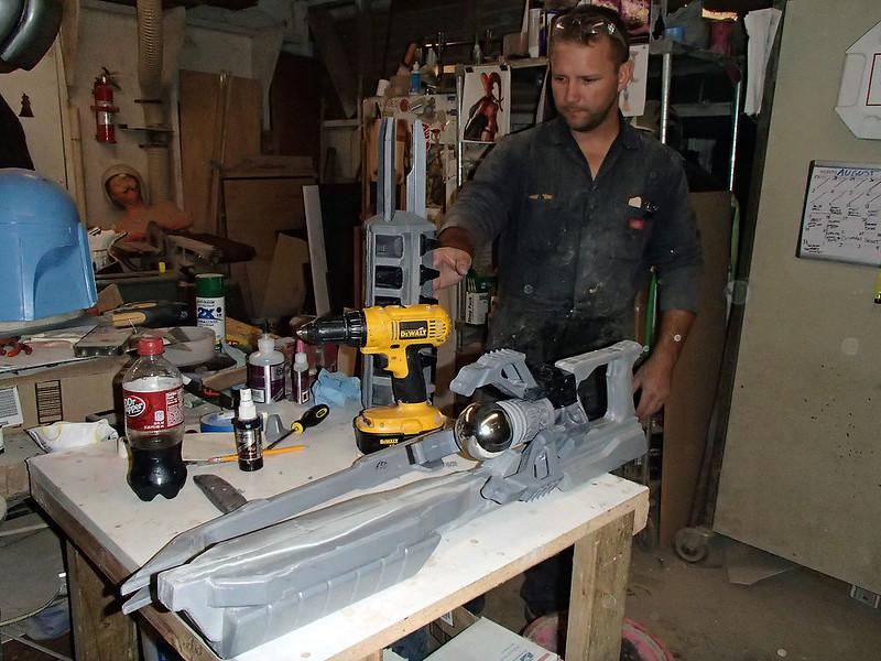 Lightning Gun Assembly Progress 41