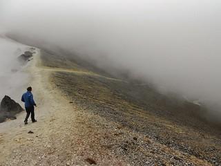 Descending Pichincha Crater Rim
