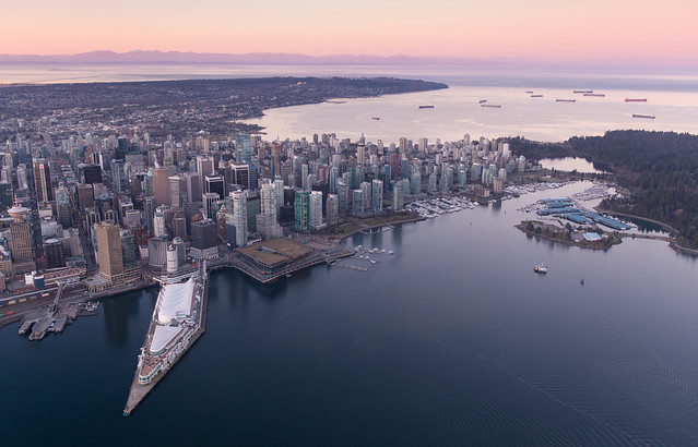 Vancouver sunrise 2014