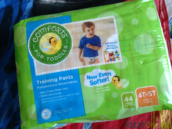 Comforts for Baby training pants wipes