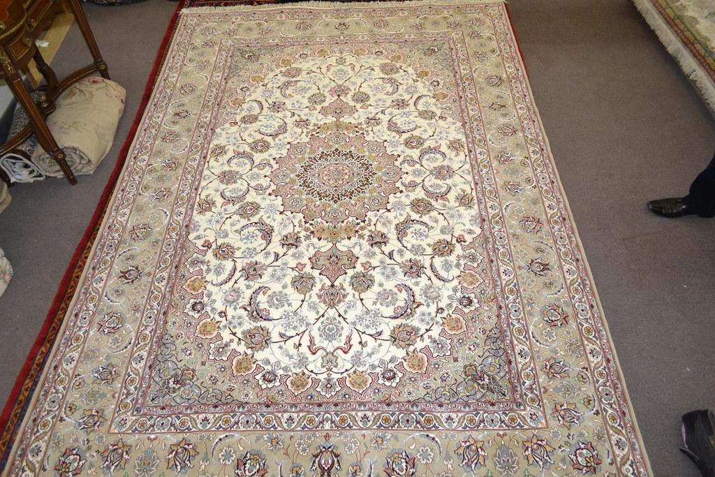 Isfahan Fine 7x10 persian Area Rug Earth Tone Color (9)