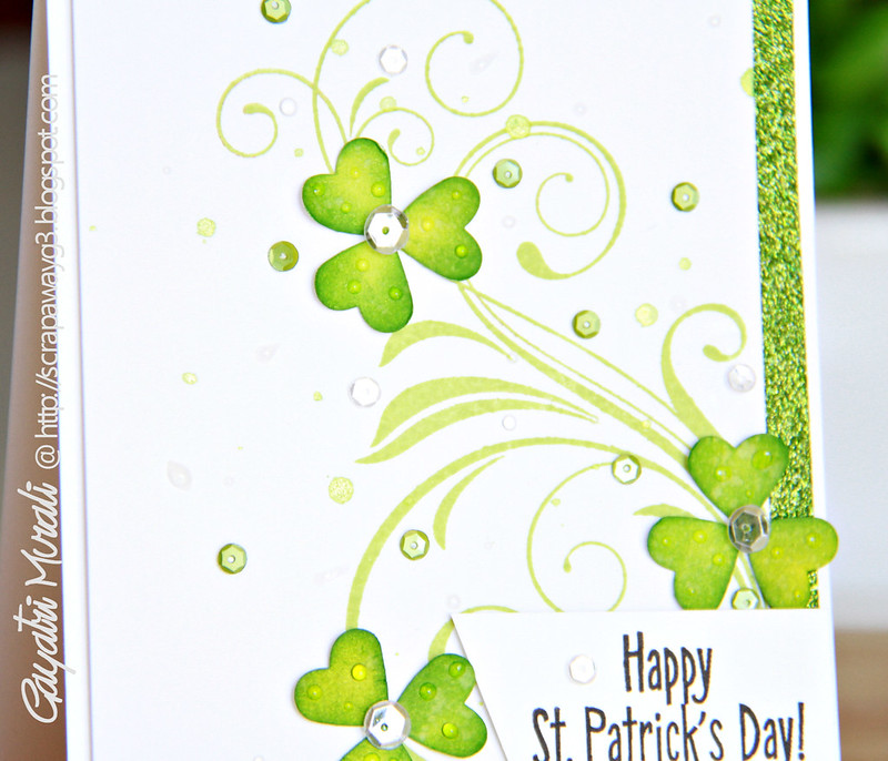 Happy St. Patrick's day closeup