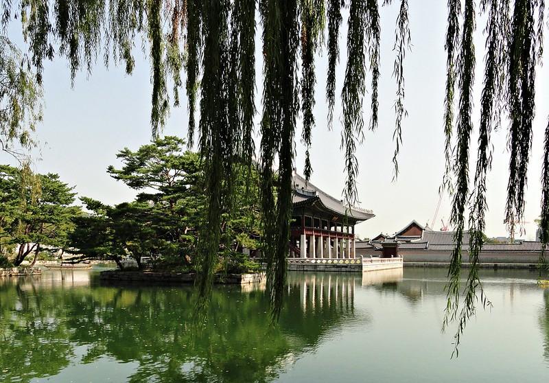 Garden of Gyeongbokgung, Seoul