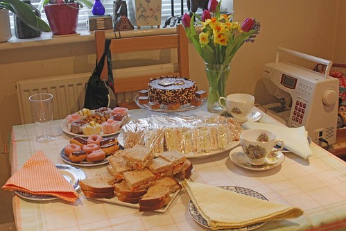 Mum's Birthday tea