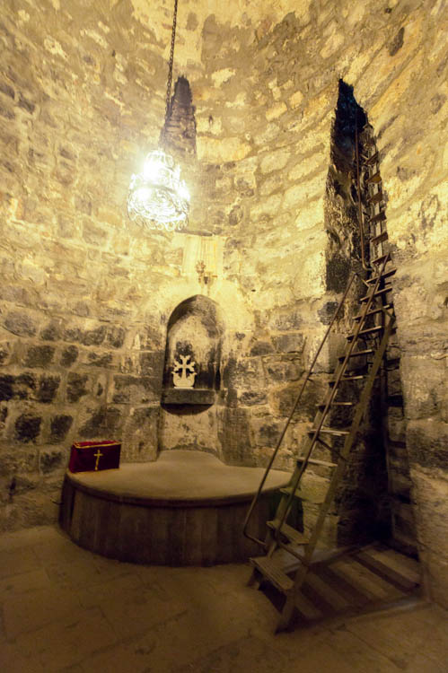 Image result for The pit where St. Gregory the Illuminator was imprisoned for 13 years