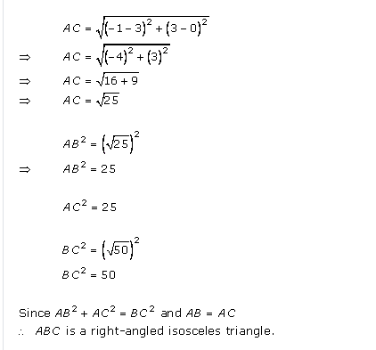 RD-Sharma-class 10-Solutions-Chapter-14-Coordinate Gometry-Ex-14.2-Q9 i