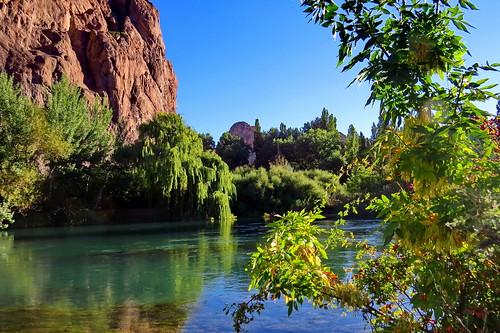 Río Chubut Dique Ameghino