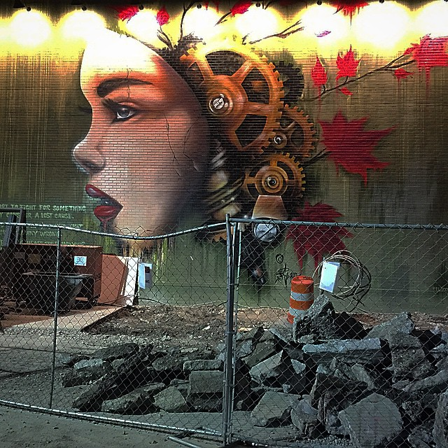 #Detroit #streetart #graffiti