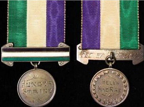 Helen MacRae Suffragette medal