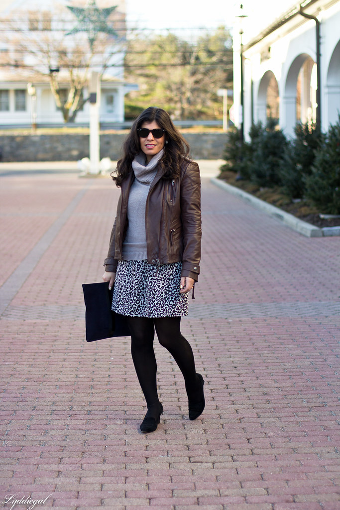 leopard dress, sweater, leather jacket.jpg