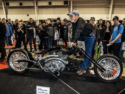 1948 Vincent Black Chopper T.O. Bike Show