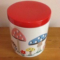 #cathkidston Anyone have this mushroom canister for sale?