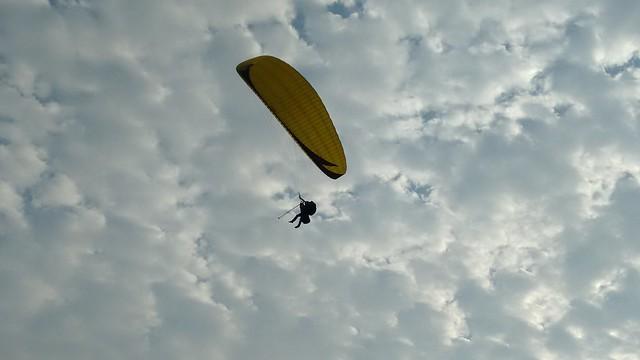 Paragliding in Miraflores, Lima, Peru
