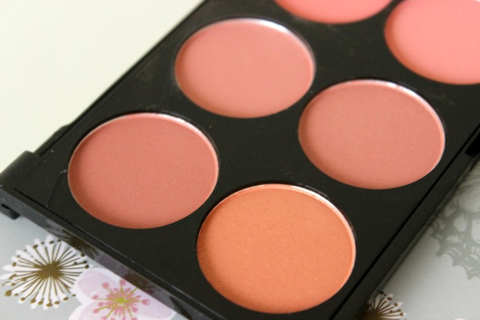 Makeup Revolution Blush Palette Hot Spice 1