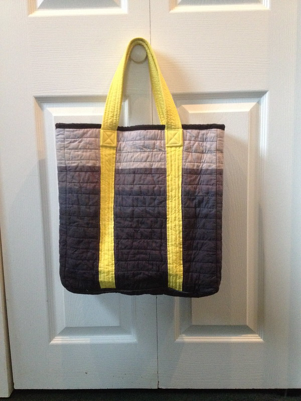 gift tote - finished and washed