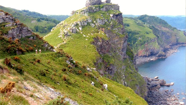 Valley of Rocks coastpath