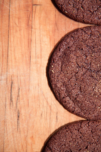 Chocolate Chinese 5 Spice Sugar Cookies
