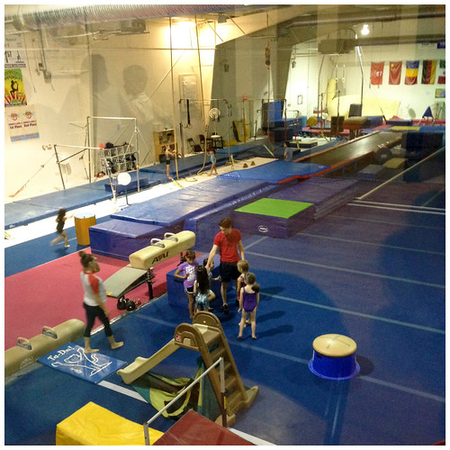 First day of gymnastics