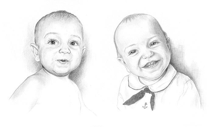 Portraits of Baby John