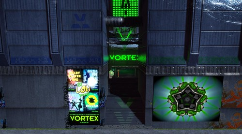 The front of The Vortex?