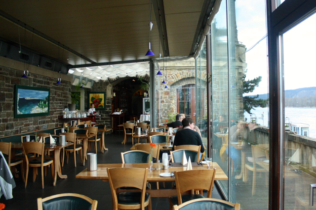 Bastei restaurant on the Rhine, Bonn