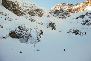 Tatra Mountains - Frozen Gąsienicowy Tarn