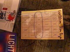 Poetry Slam Bingo Karten - textstrom Poetry Slam Wien