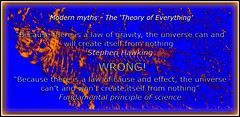 Modern Myths - the Theory of Everything.