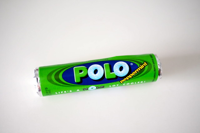 "Polo peppermint. nostalgic for the 1980s? retro ""old school"" Singapore snacks"