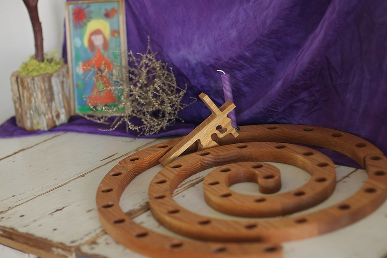 Lent spiral