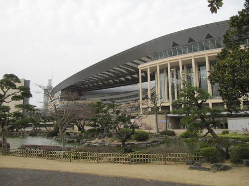 小倉競馬場の日本庭園