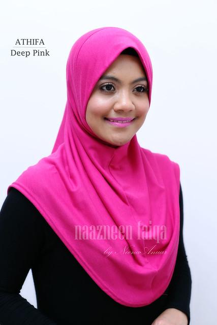 Athifa Deep Pink