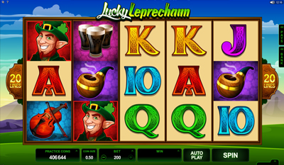 Lucky Leprechaun slot game online review