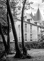 Château (fin XVe- XVIe s.) de Dampierre-sur-Boutonne (Charente-Maritime, France)
