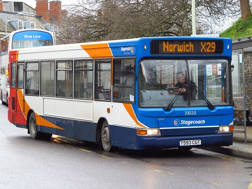 SC Norfolk Green 33020 T593CGT (c) Grahame Bessey