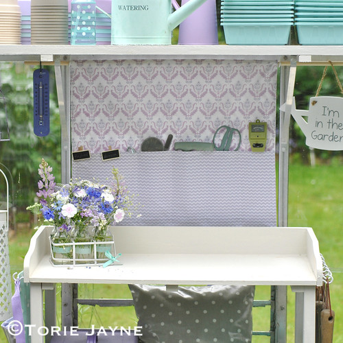 Greenhouse Hanging Tidy Sewing Tutorial