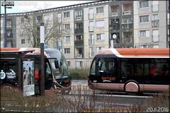 Iveco Bus Créalis 18 GNC - Setram (Société d'Économie Mixte des TRansports en commun de l'Agglomération Mancelle) n°307 &  n°304 - Photo of Souligné-Flacé