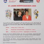Jubi Jassturnier 2012