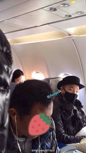 Tae Yang - Shanghai Airport - 31jan2015 - MyLadies盛开微光 - 02
