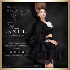 AZUL PLT GG 2016AUG